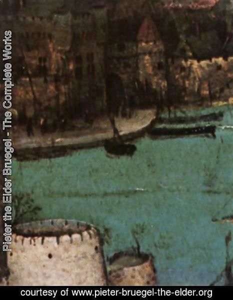 Pieter the Elder Bruegel - The Tower of Babel (detail) 20