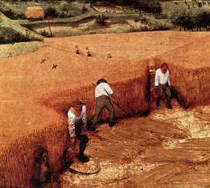 The Corn Harvest (detail)