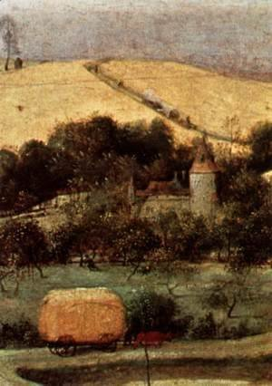 Pieter the Elder Bruegel - The Corn Harvest (detail) 2