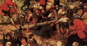 Pieter the Elder Bruegel - Christ Carrying the Cross (detail) 3