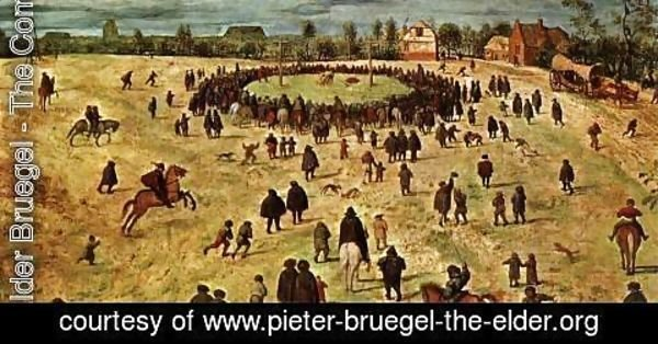 Pieter the Elder Bruegel - Christ Carrying the Cross (detail) 5