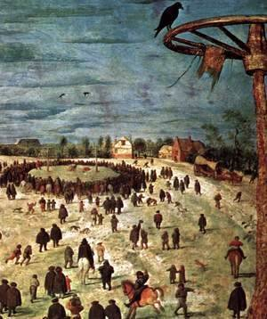 Pieter the Elder Bruegel - Christ Carrying the Cross (detail) 6