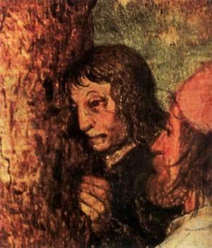 Pieter the Elder Bruegel - Christ Carrying the Cross (detail) 8