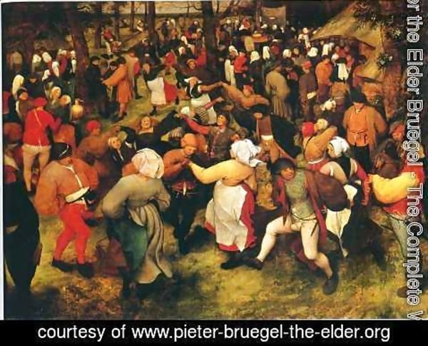 Pieter the Elder Bruegel - Wedding Dance in the Open Air