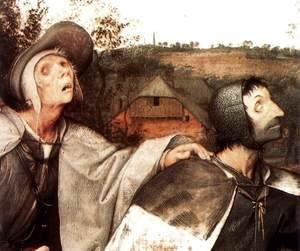 Pieter the Elder Bruegel - The Parable of the Blind Leading the Blind (detail)