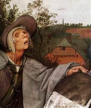 Pieter the Elder Bruegel - The Parable of the Blind Leading the Blind (detail) 2