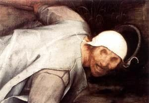 Pieter the Elder Bruegel - The Parable of the Blind Leading the Blind (detail) 3