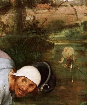 Pieter the Elder Bruegel - The Parable of the Blind Leading the Blind (detail) 4
