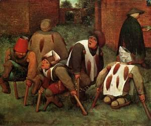 Pieter the Elder Bruegel - The Cripples