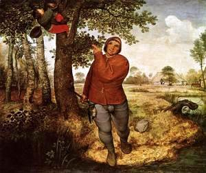 Pieter the Elder Bruegel - The Peasant and the Birdnester