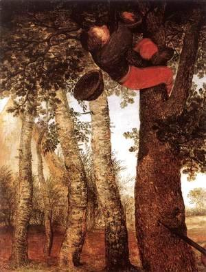 Pieter the Elder Bruegel - The Peasant and the Birdnester 2