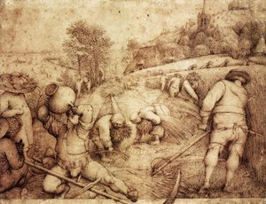 Pieter the Elder Bruegel - Summer