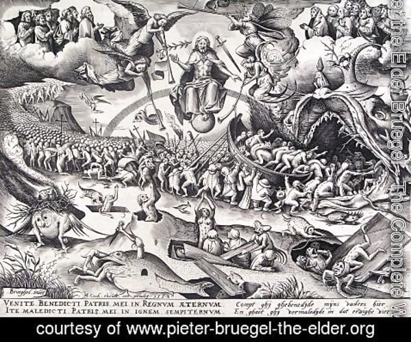 Pieter the Elder Bruegel - Last Judgment