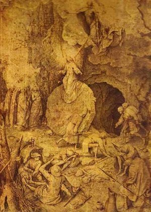 Pieter the Elder Bruegel - The Resurrection of Christ