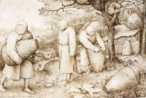 Pieter the Elder Bruegel - The Beekeepers and the Birdnester