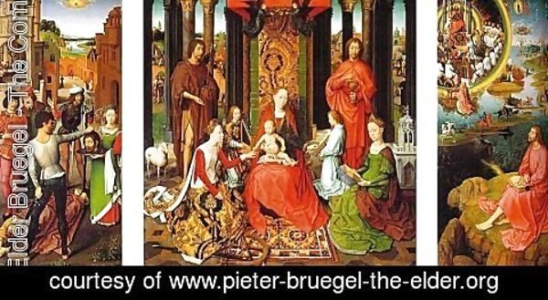 Pieter the Elder Bruegel - Triptych