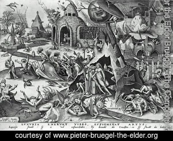 Pieter the Elder Bruegel - Lust