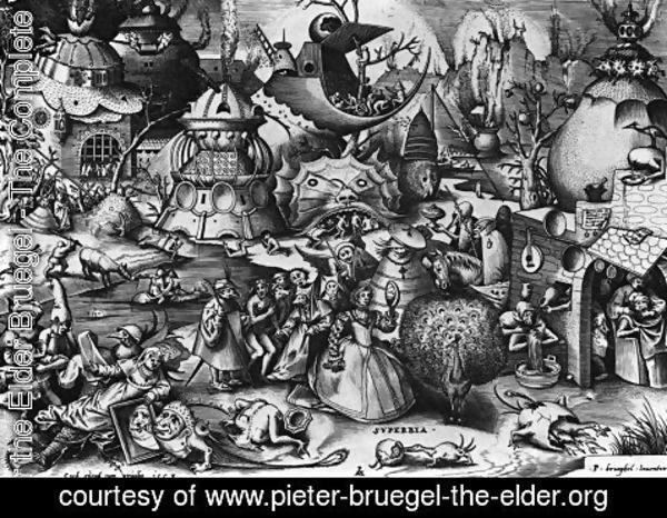 Pieter the Elder Bruegel - Pride