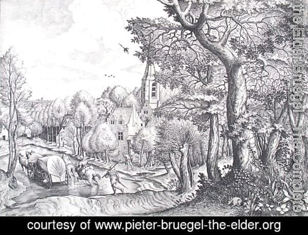 Pieter the Elder Bruegel - Wooded Region