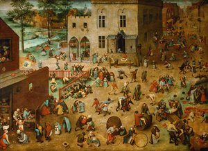 Pieter the Elder Bruegel - Children's Games 1559-60