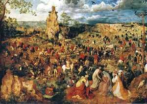Pieter the Elder Bruegel - Christ Carrying the Cross 1564