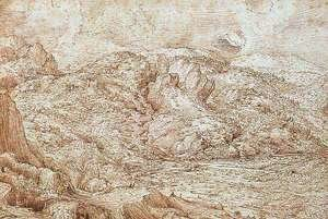 Pieter the Elder Bruegel - Landscape of the Alps