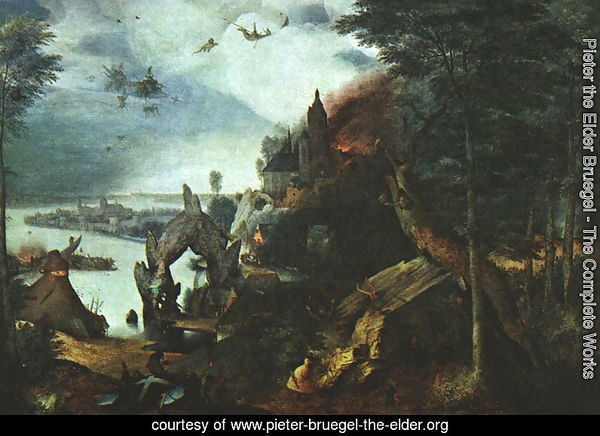 Landscape with the Temptation of Saint Anthony 1555-58