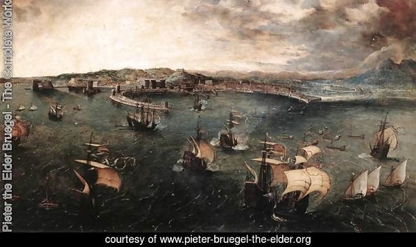 Naval Battle in the Gulf of Naples 1558-62