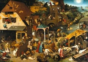 Netherlandish Proverbs 1559