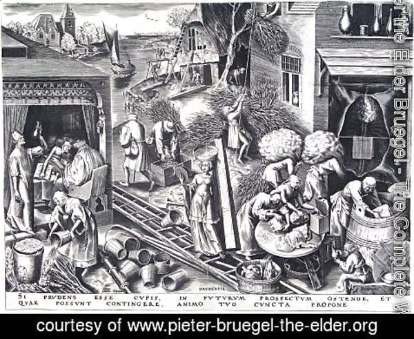 Pieter the Elder Bruegel - Prudence 1559
