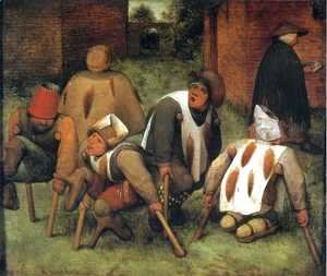 Pieter the Elder Bruegel - The Beggars 1568