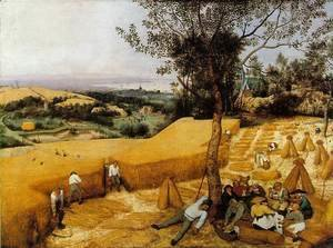 Pieter the Elder Bruegel - The Corn Harvest 1565