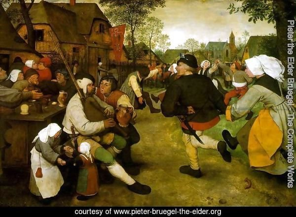 The Peasant Dance 1568