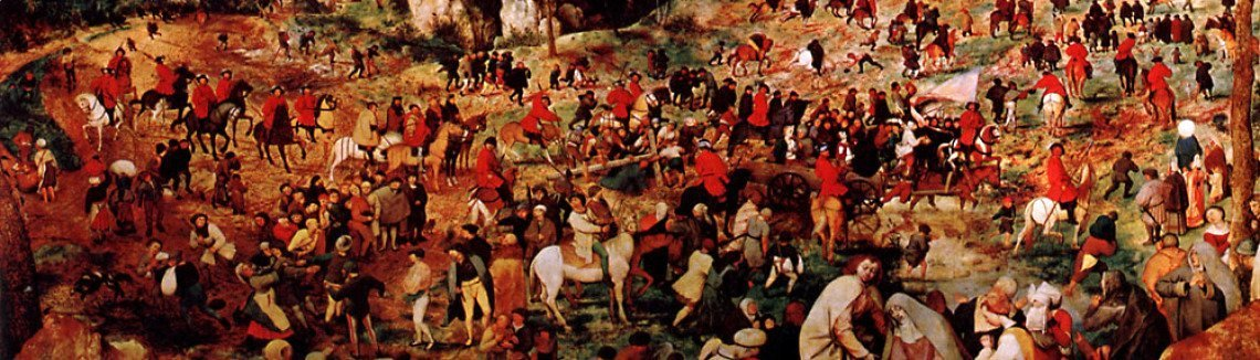 Pieter the Elder Bruegel - The Procession To Calvary
