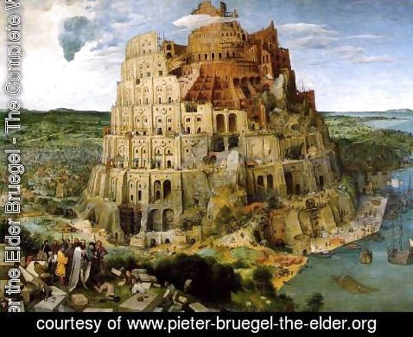 Pieter the Elder Bruegel - The Tower of Babel 1563