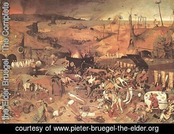 Pieter the Elder Bruegel - The Triumph of Death c. 1562
