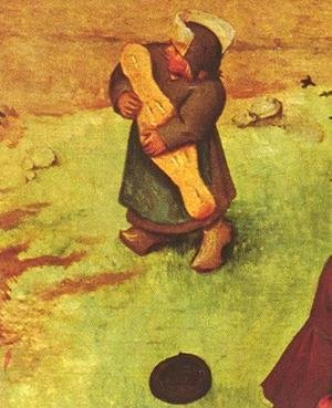 Pieter the Elder Bruegel - Children's Games (detail 11) 1559-60