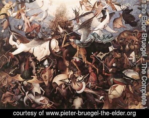 Pieter the Elder Bruegel - The Fall of the Rebel Angels 1562