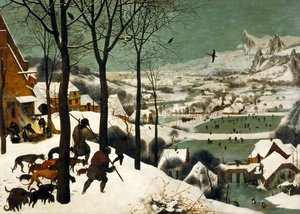 Pieter the Elder Bruegel - The Hunters in the Snow (Winter) 1565