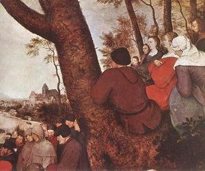 Pieter the Elder Bruegel - The Sermon of St John the Baptist (detail 4) 1566