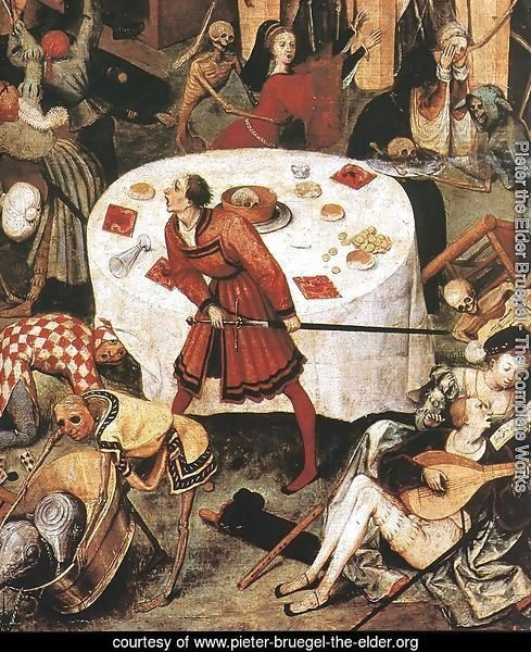 The Triumph of Death (detail) c. 1562