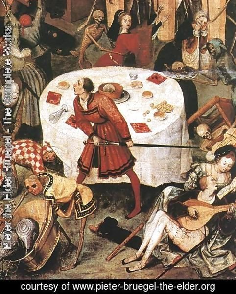 Pieter the Elder Bruegel - The Triumph of Death (detail) c. 1562