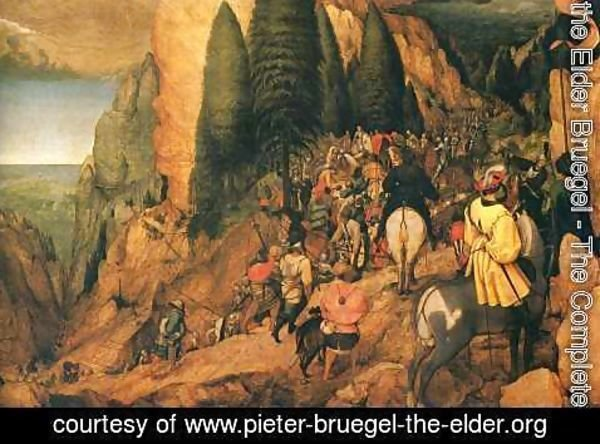 Pieter the Elder Bruegel - The Conversion of Saul 1567
