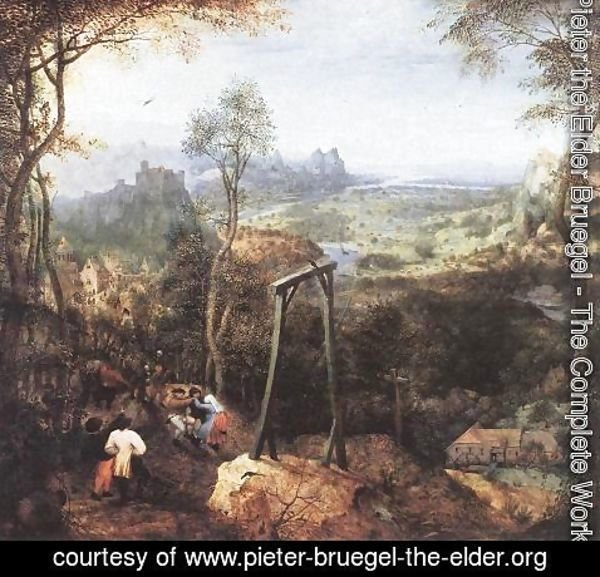 Pieter the Elder Bruegel - The Magpie on the Gallows 1568