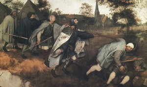 Pieter the Elder Bruegel - Blind Leading the Blind