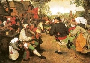Pieter the Elder Bruegel - Peasant Dance